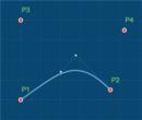 shape (point1,point2,angle1,angle2,length)