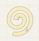 flounce(point,length,width,seam allowance)