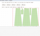 Estimating fabric length