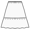 New 2-tiered skirt option available