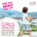 Skirt sewing patterns are available for girls!