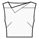 A new asymmetrical front bodice option!