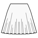 1/3 circle skirt