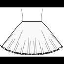 Circular skirt