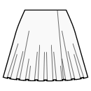 1/3 circle skirt with wrap