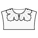Maple leaf collar