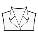 Stand notched collar