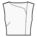 Asymmetrical fronts