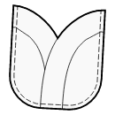 Petal Pocket with Facings