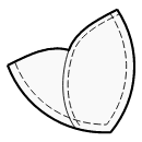 Petal patch pockets