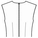 Back waist dart