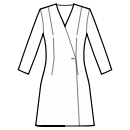 No waist seam, A-line dress